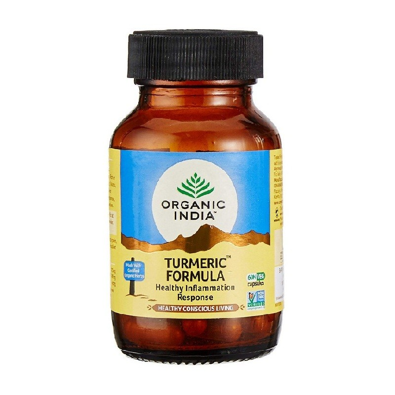 Organic India Turmeric Capsules 60 Pieces