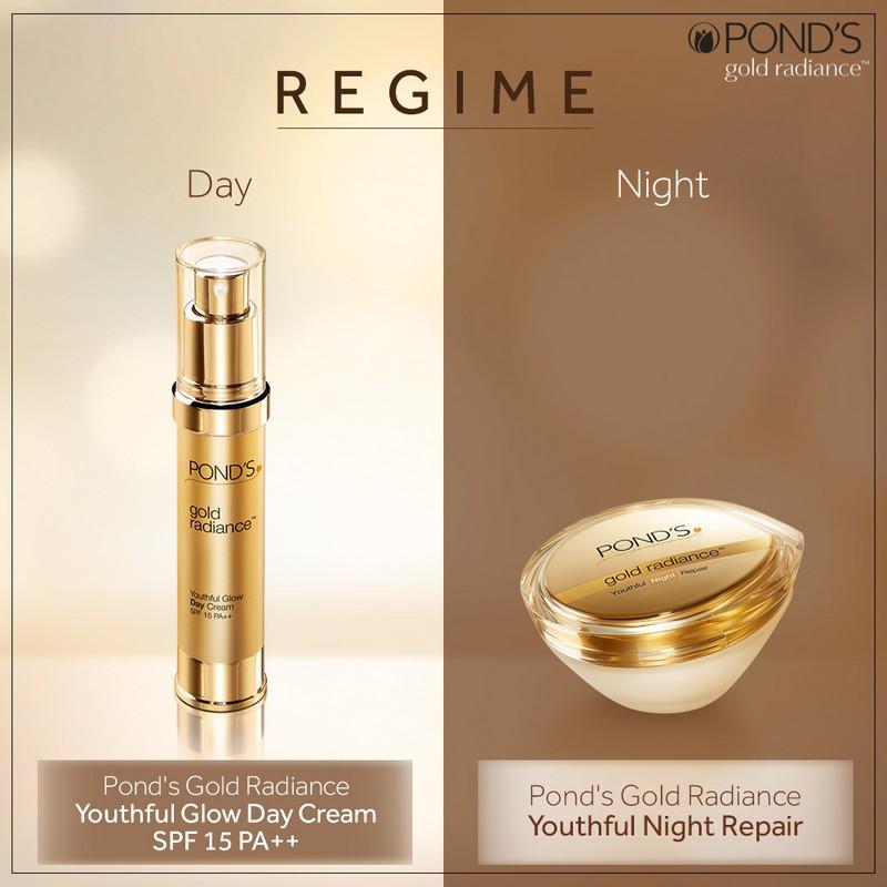 POND'S Gold Radiance Youthful Night Repair Cream 50gm