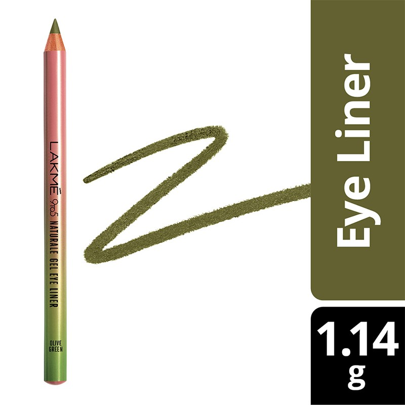 Lakme 9 To 5 Naturale Gel Eyeliner Olive Green 1.14gm