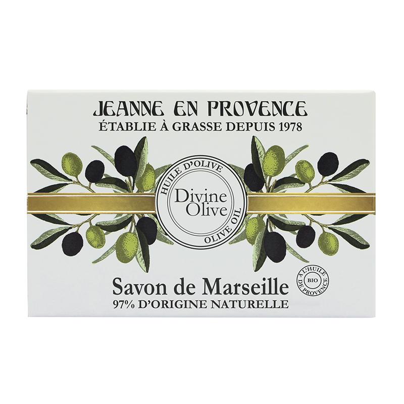 Jeanne En Provence Divine Olive Bathing Bar 100gm
