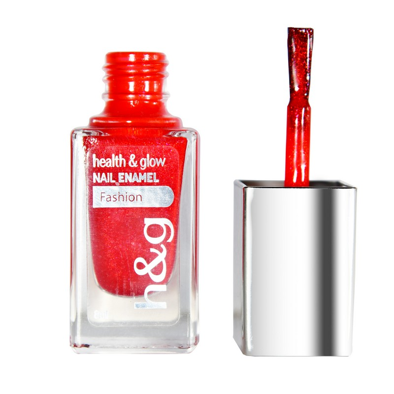 Health & Glow Nail Colour Party Red FI020001
