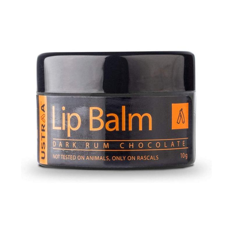 Ustraa Lip Balm With Dark Rum Chocolate 10gm