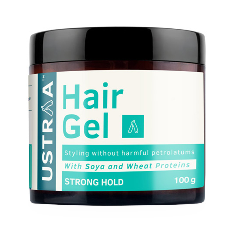 Ustraa Strong Hold Hair Gel With Soya & Wheat Proteins 100gm