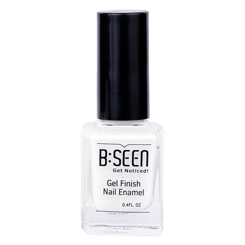B:Seen Get Noticed Gel Finish Nail Polish Whipped Cream 01