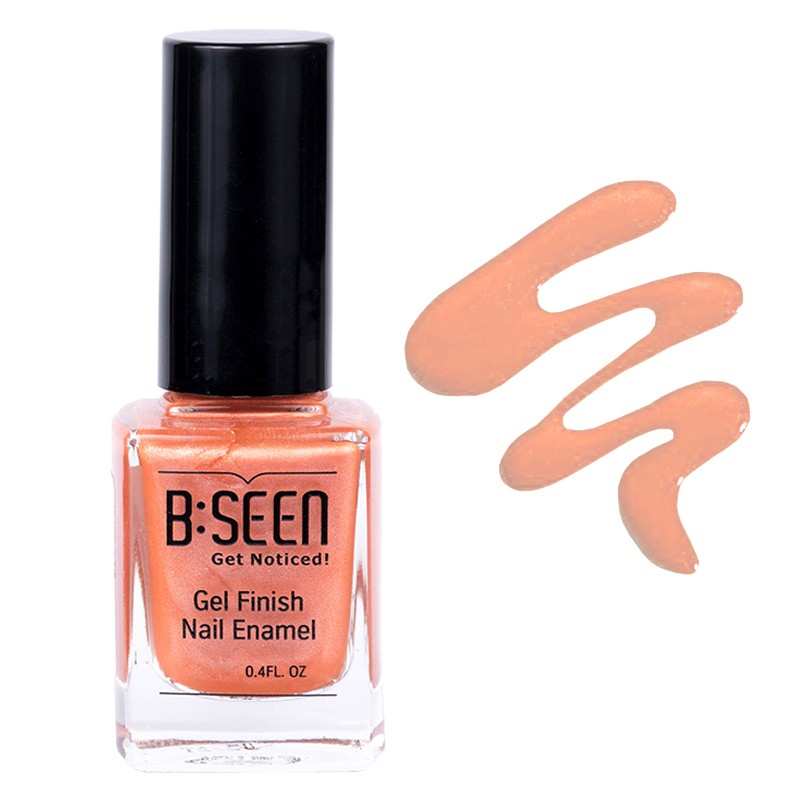 B:Seen Get Noticed Gel Finish Nail Polish Firecracker 15