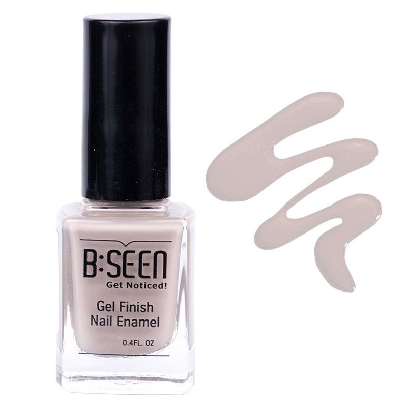 B:Seen Get Noticed Gel Finish Nail Polish Sand Castle 17