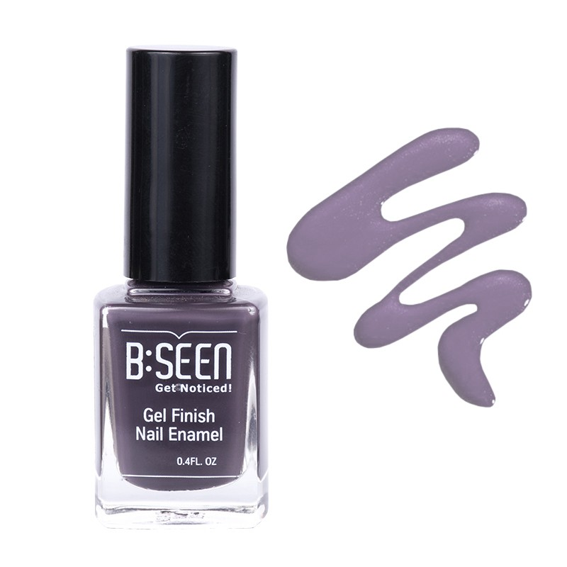 B:Seen Get Noticed Gel Finish Nail Polish Volcanic Ash 21