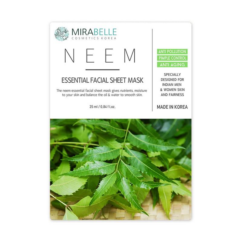 Mirabelle Korea Neem Essential Facial Mask