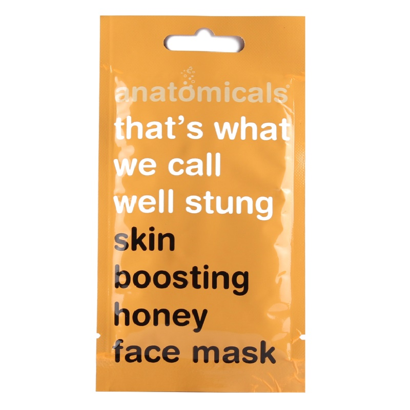 Anatomicals Skin Boosting Honey Face Mask 15ml