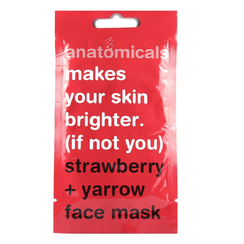 Anatomicals Strawberry + Yarrow Face Mask 15ml