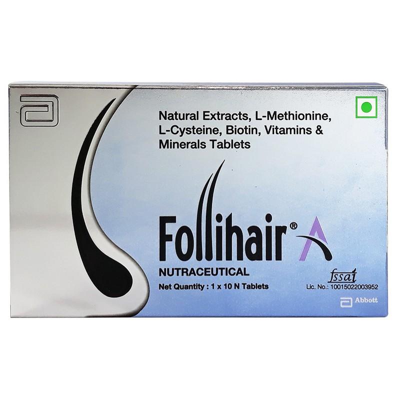 Follihair Nutraceutical Tablets 10N