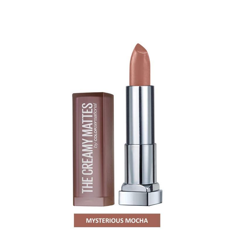 Maybelline New York Color Sensational Creamy Matte Lipstick Mysterious Mocha 631