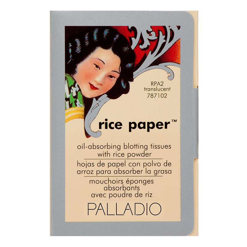 Palladio Rice Paper Oil-Absorbing Blotting Tissue Translucent Powder