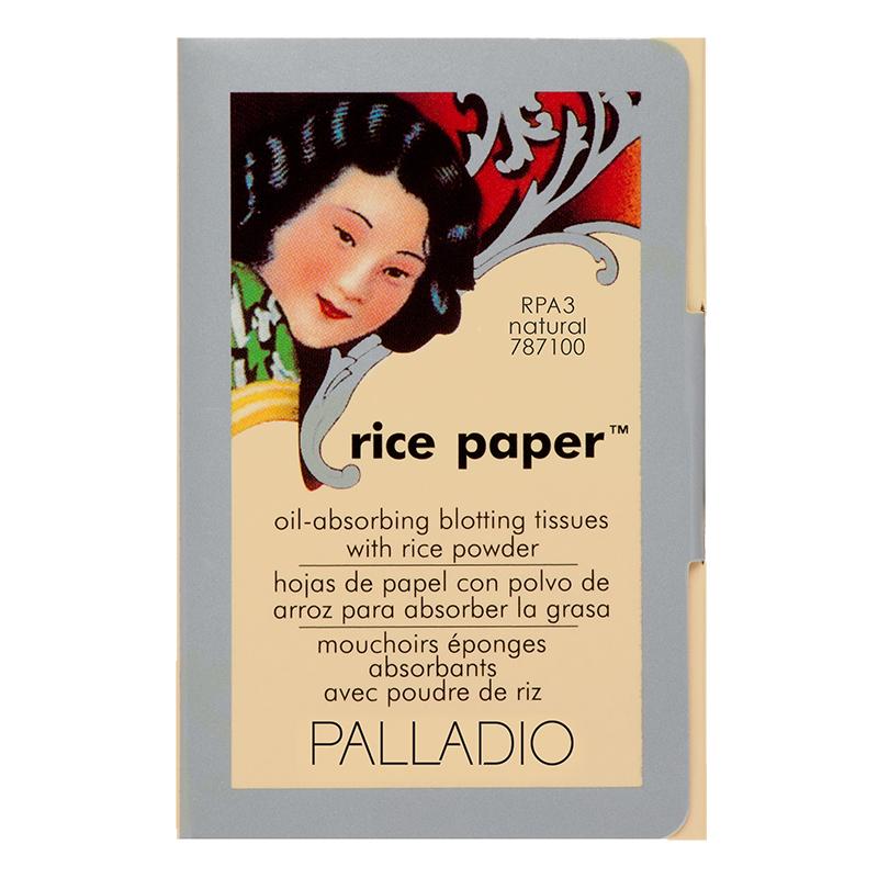 Palladio Rice Paper Oil-Absorbing Blotting Tissue Natural