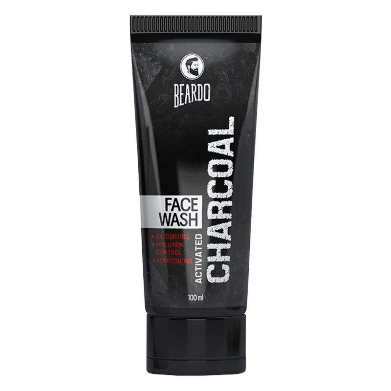 Beardo Activated Charcoal Face Wash 100gm
