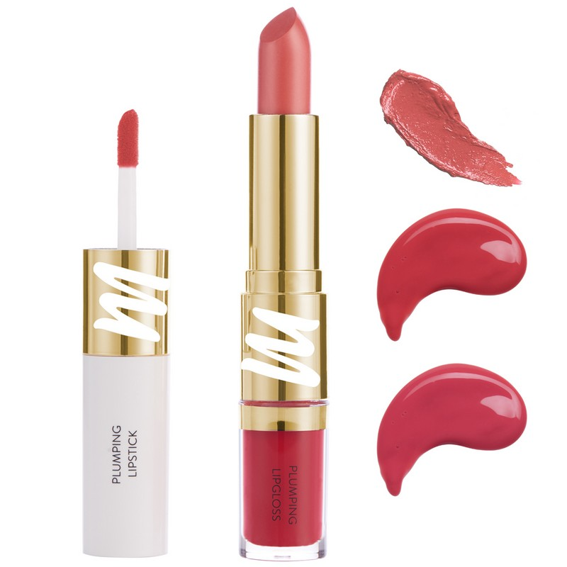 MyGlamm Colour Fusion 2-In-1 Plumping Lipstick + Lip Gloss Girl On Fire