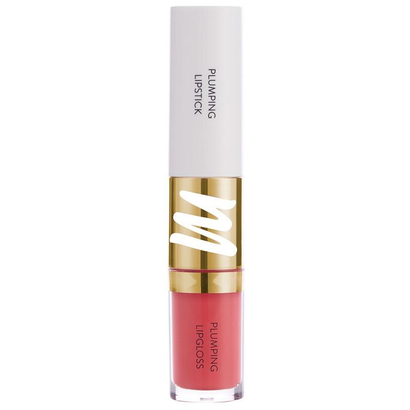 MyGlamm Colour Fusion 2-In-1 Plumping Lipstick + Lip Gloss Love Brew