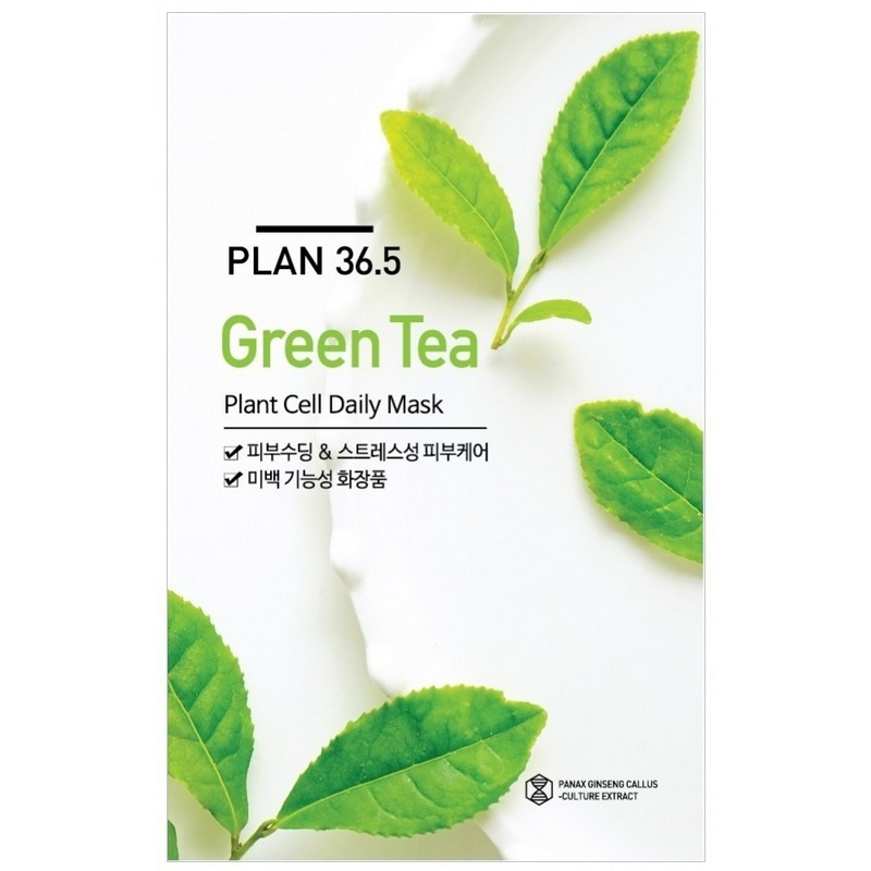 Plan 36.5 Green Tea Plant Cell Daily Mask 23ml