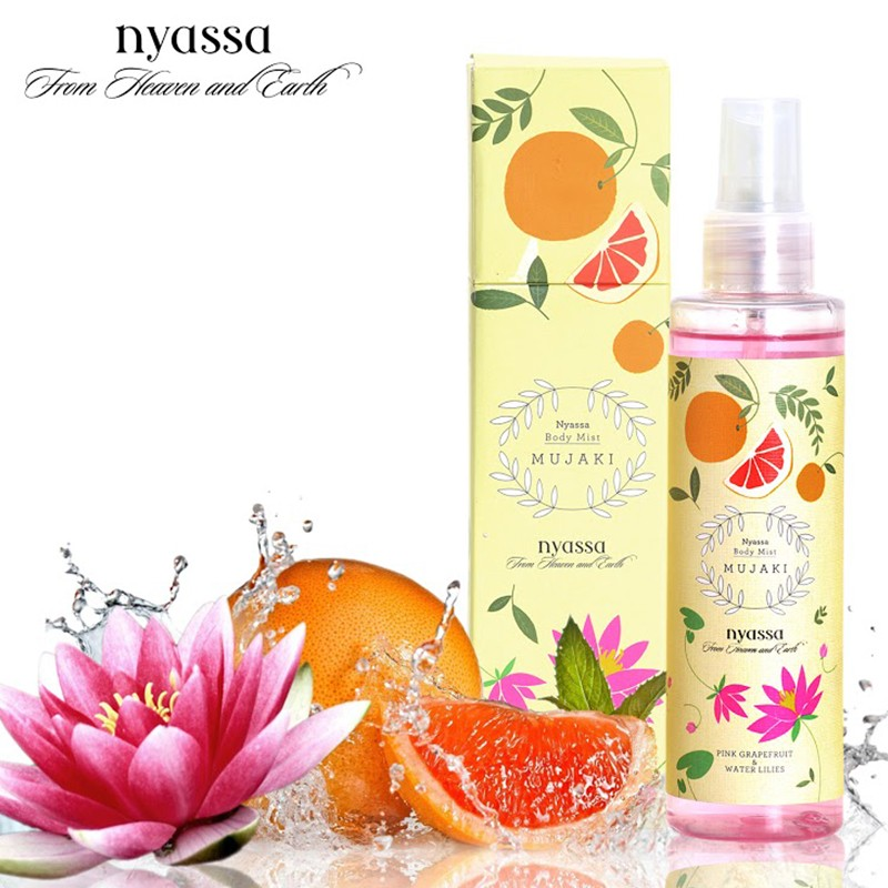 Nyassa Body Mist Mujaki 150ml