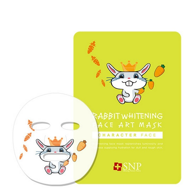 SNP Rabbit Whitening Face Art Mask 25ml