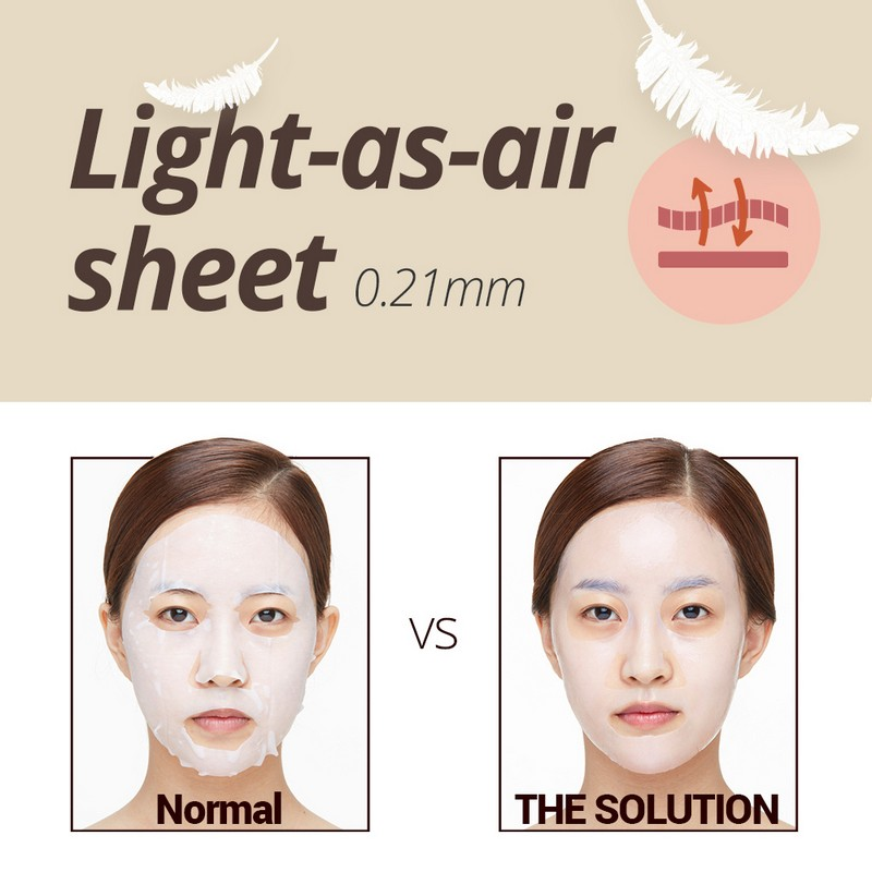 The Face Shop THE SOLUTION MOISTURIZING Face Mask