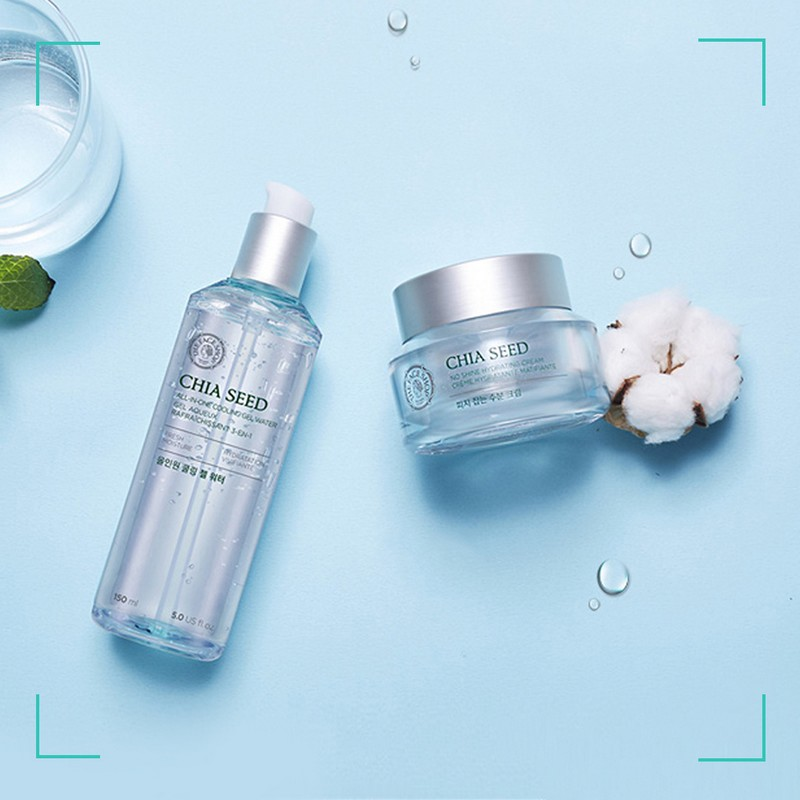 The Face Shop Chia Seed All-In-One Cooling Gel Water