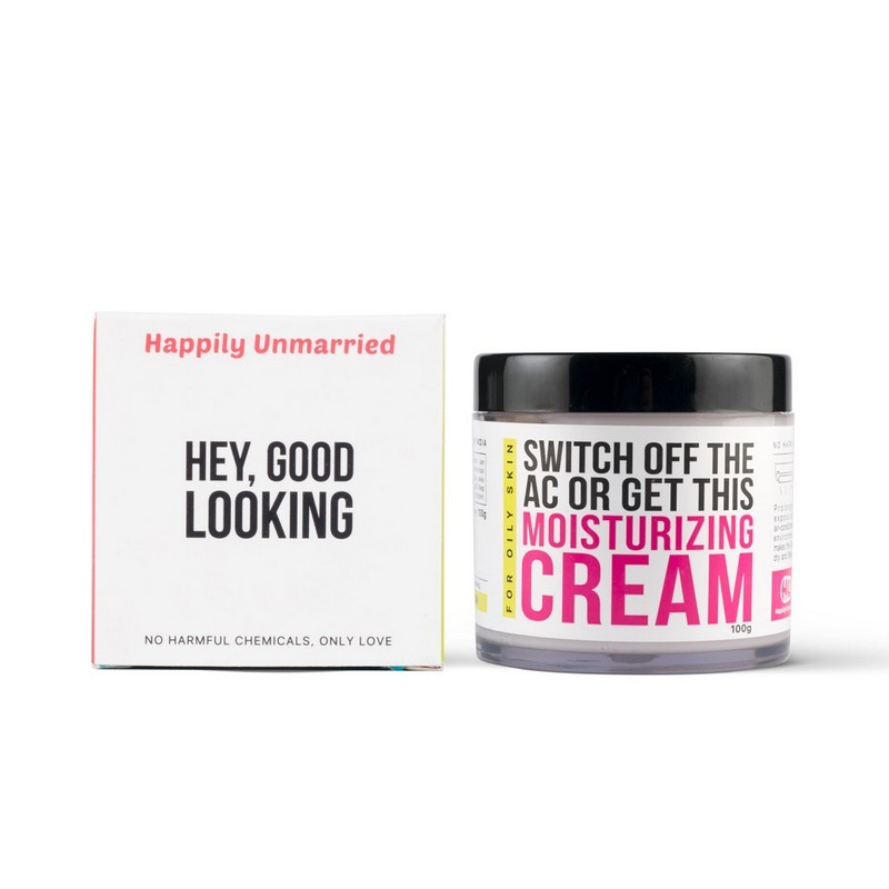 Happily Unmarried Switch Off The AC Or Get This Moisturizing Cream For Oily Skin 100gm