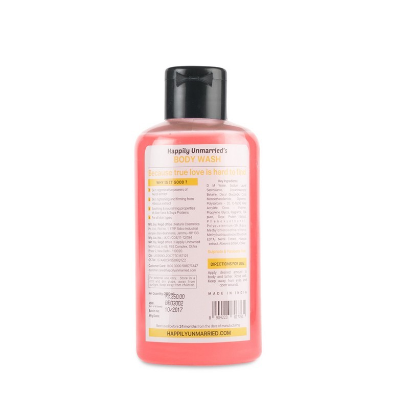 Happily Unmarried Wanted True Love Found This Body Wash Neroli Hibiscus 200ml