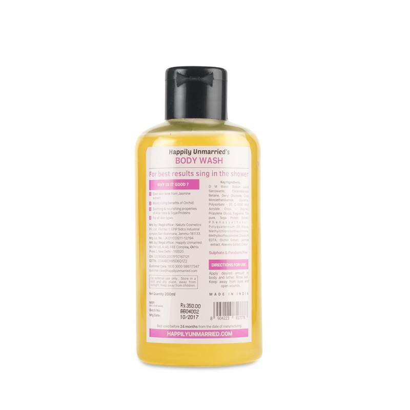 Happily Unmarried Spend Some Time Alone With This Body Wash Orchid Jasmine 200ml