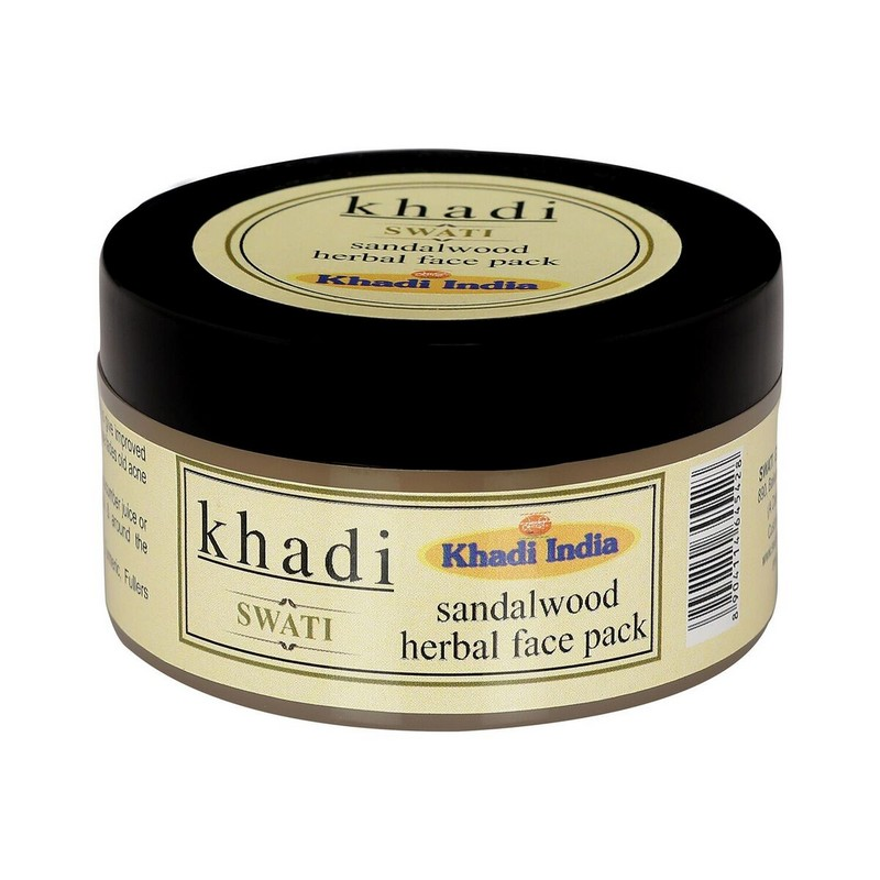 Khadi Swati Sandalwood Herbal Face Pack 50Gm
