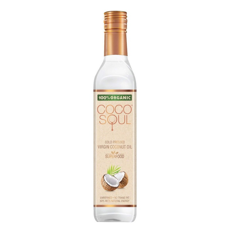 Coco Soul Natural Virgin Coconut Oil 500ml