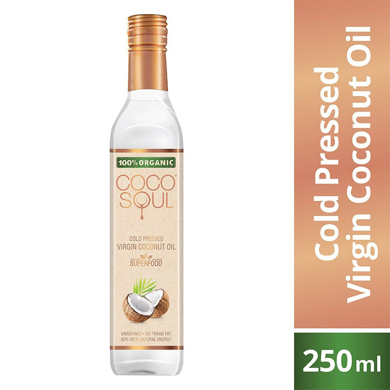 Coco Soul Organic Virgin Coconut Oil 250ml