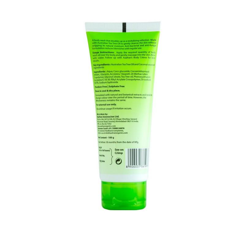 Azafran Organics Tea Tree Skin Clearing Face Wash 50gm