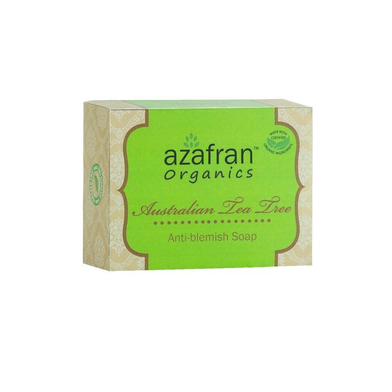 Azafran Australian Tea Tree Anti Blemish Soap 100gm