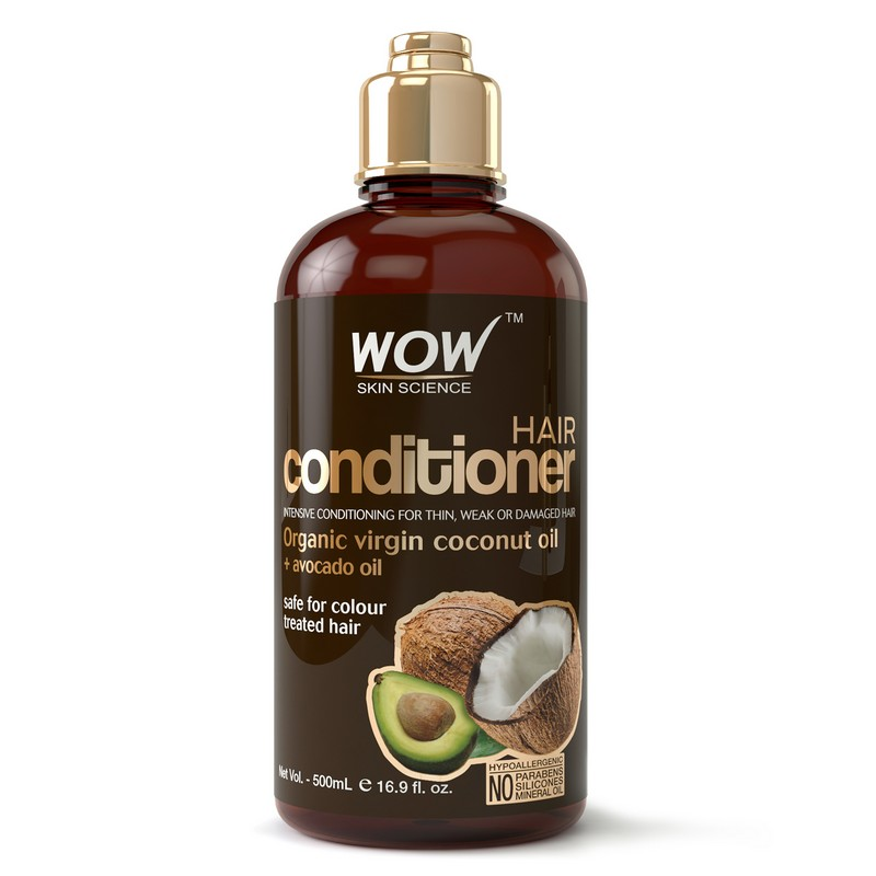WOW Skin Science Hair Conditioner with Virgin Coconut and Avocado Oil 500ml