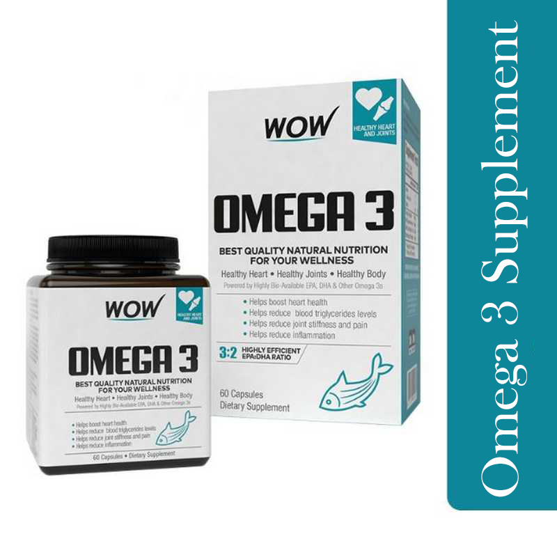 WOW Life Science Omega-3 60 Capsule