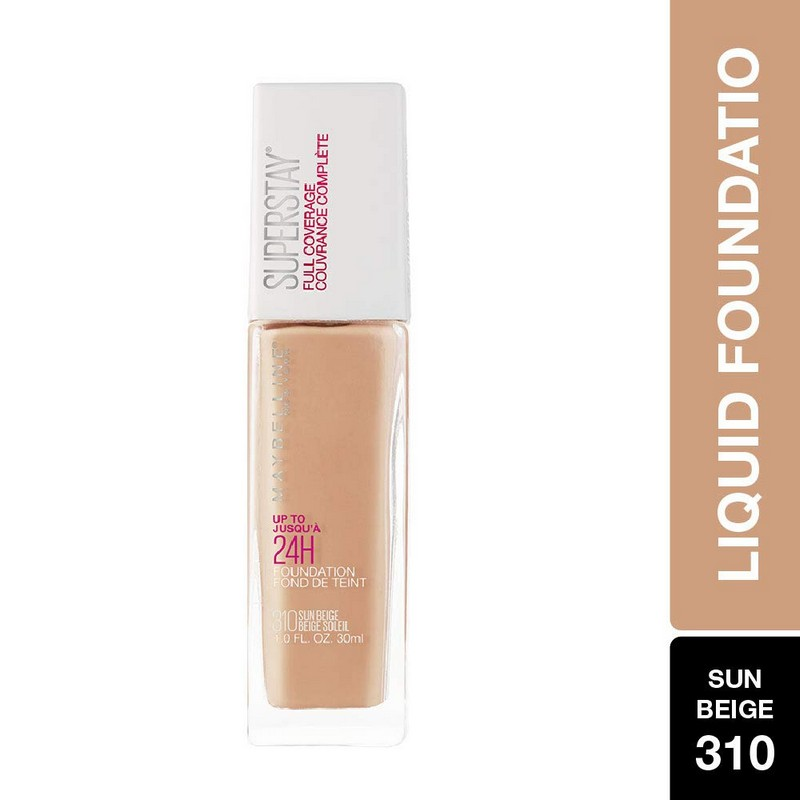 Maybelline New York Super Stay Full Coverage Foundation Sun Beige 310