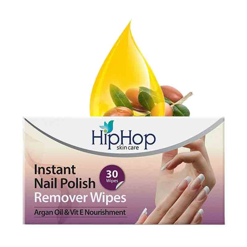 HipHop Instant Nail Polish Remover 30 Wipes