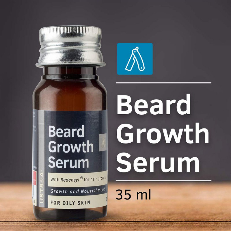 Ustraa Beard Growth Serum For Oily Skin