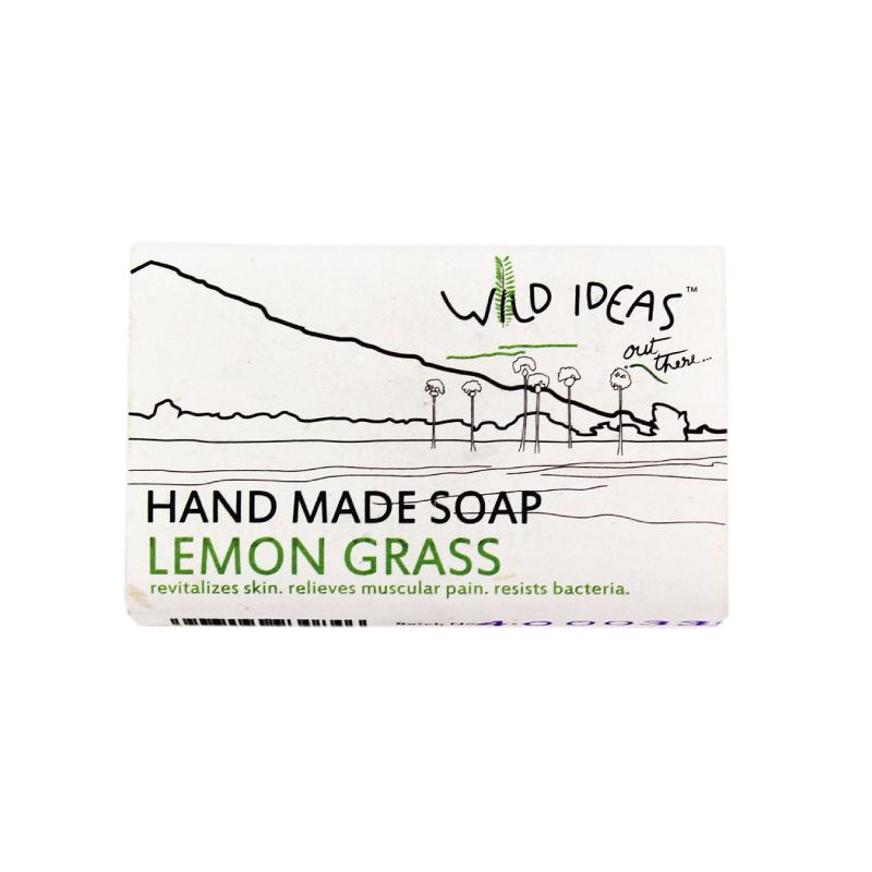 Wild Ideas Hand Made Soap Lemon Grass 100gm