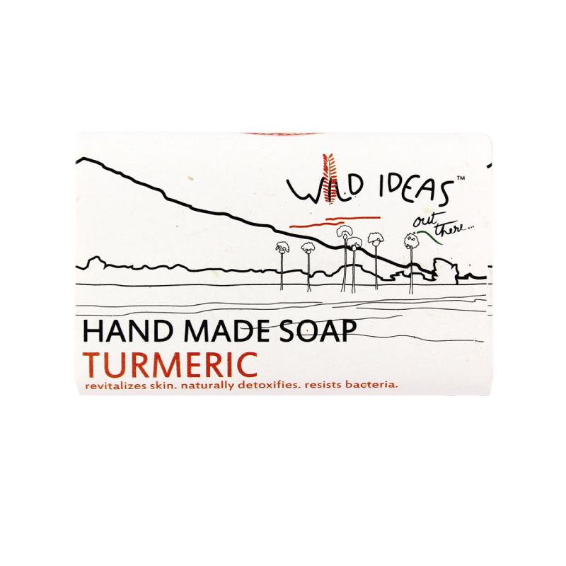 Wild Ideas Hand Made Soap Turmeric 100gm