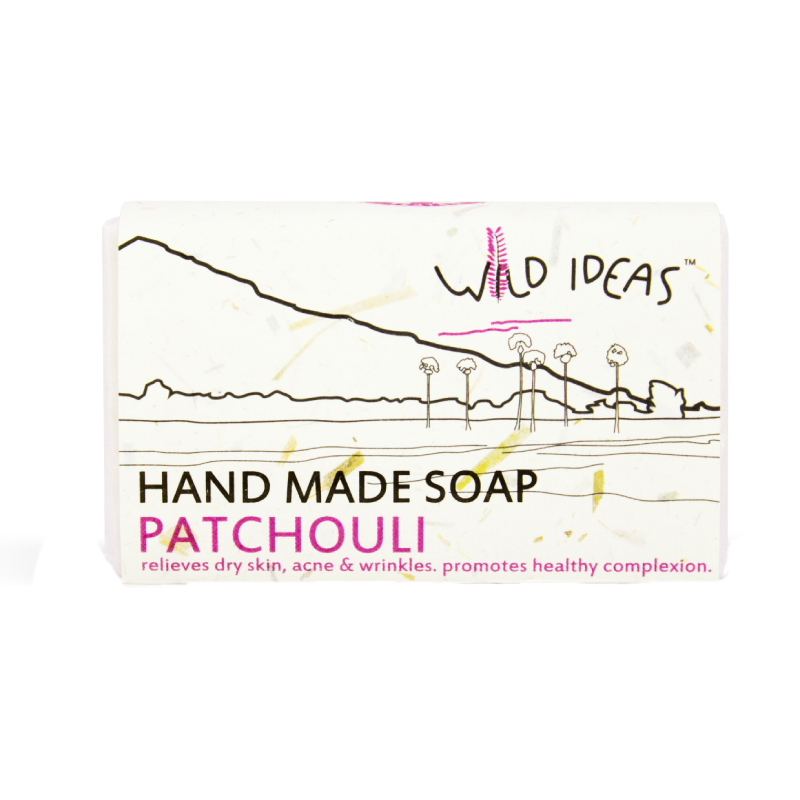 Wild Ideas Hand Made Soap Patchouli 100gm