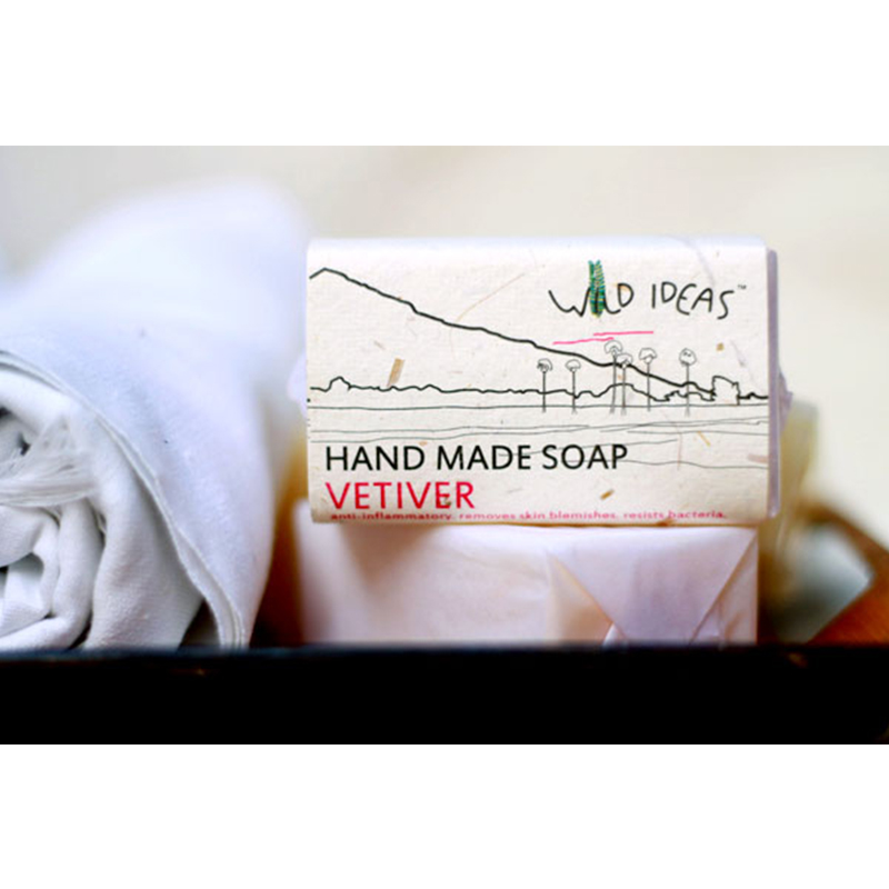 Wild Ideas Hand Made Soap Vetiver 100gm