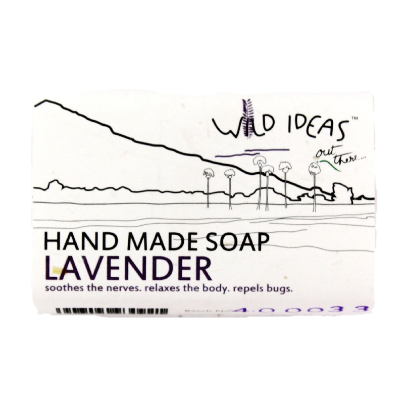 Wild Ideas Hand Made Soap Lavender 100gm