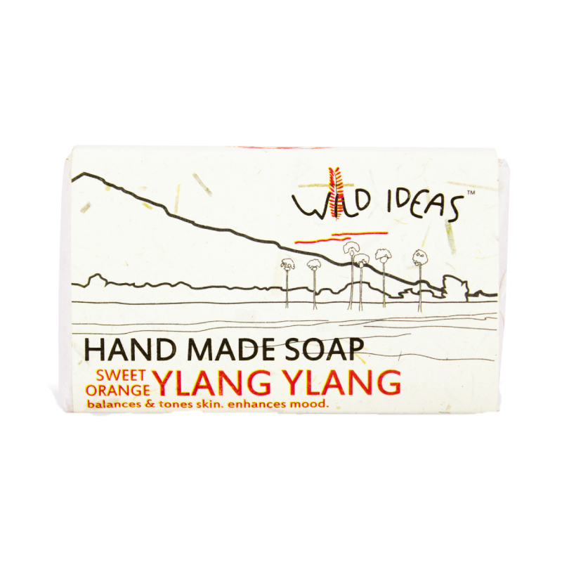 Wild Ideas Hand Made Soap Sweet Orange 100gm