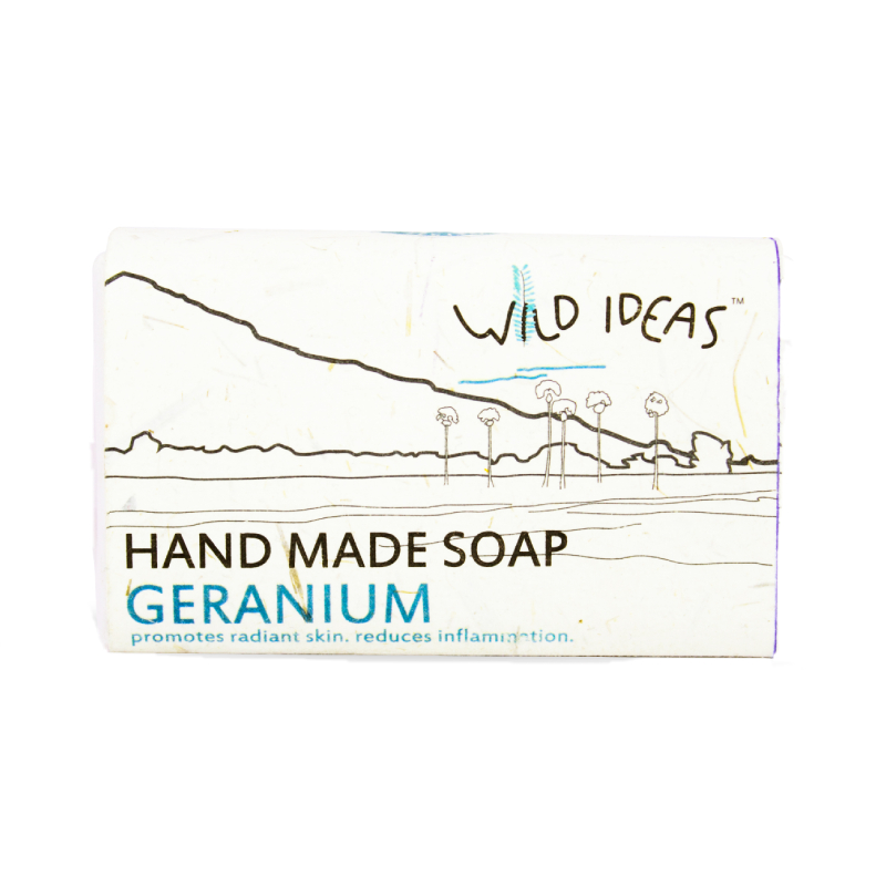 Wild Ideas Hand Made Soap Geranium 100gm
