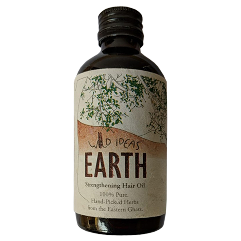 Wild Ideas Earth Strengthening Hair Oil 200ml