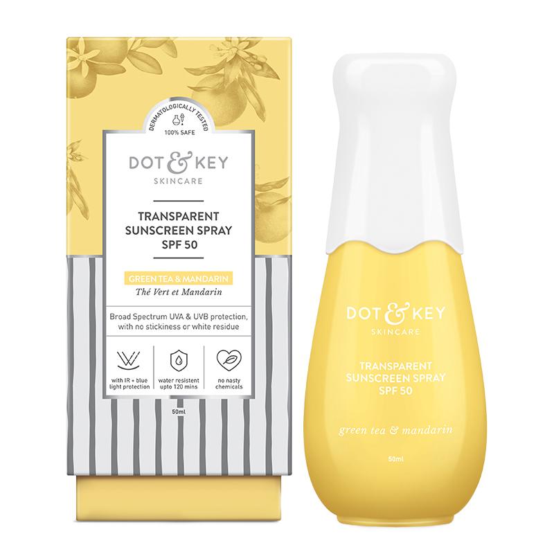 Dot & Key Transparent Sunscreen Spray SPF50 PA+++