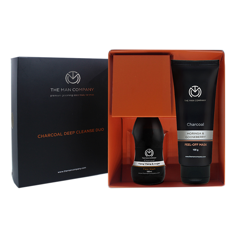 The Man Company Peel Off Mask + Face Wash Grooming Combo Set