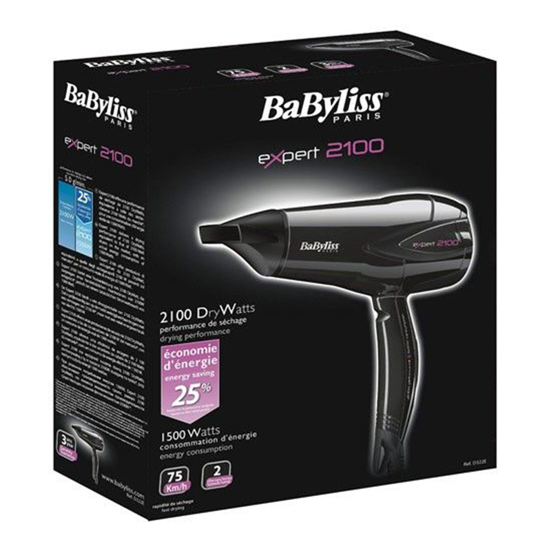 Babyliss Expert Hair Dryer 2100W D322E